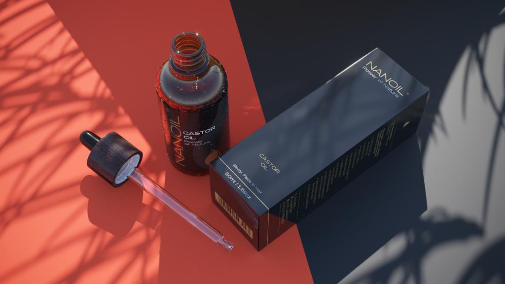 Rizinusöl für Haare von Nanoil